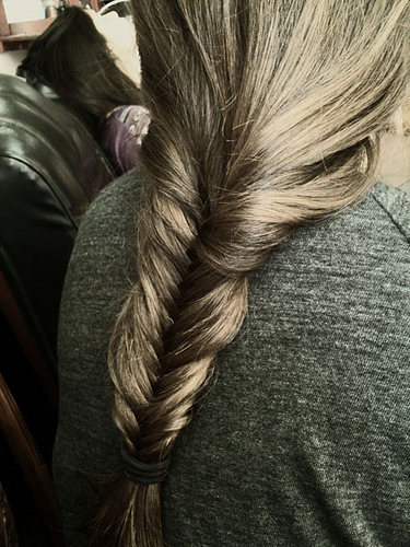 Fishtail Braid (Photo by Elaine Whitney at Flickr Creative Commons)