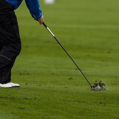 Golfer at SIX Golf Tournament, Otelfingen, Canton of Zurich