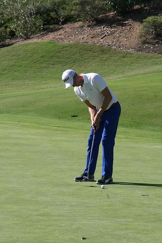 Tom Parkin at the Farms Golf Club in San Diego