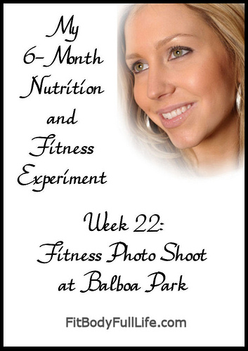 Fitness Photo Shoot at Balboa Partk