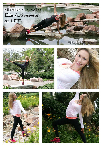 Fitness Fun with Ellie Activewear at UTC