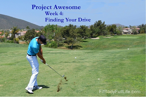 Project Awesome Week 4: Finding Your Drive