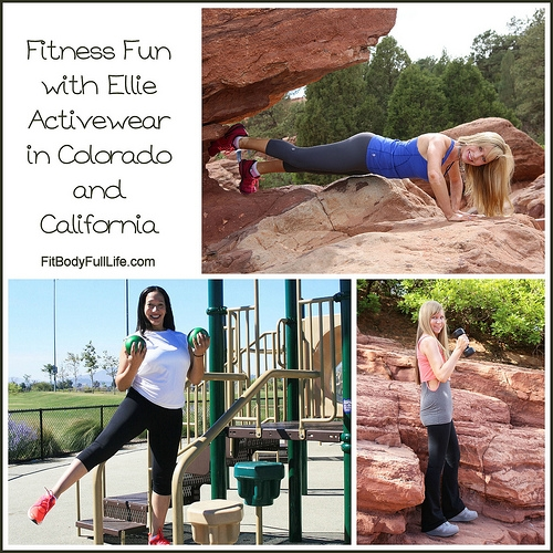 Fitness Fun with Ellie Activewear in Colorado and California
