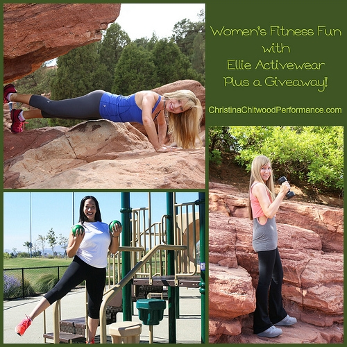 Women's Fitness Fun with Ellie Activewear Plus a Giveaway