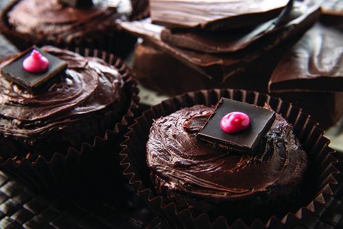 Sweet Debbie's Chocoholic Cupcakes