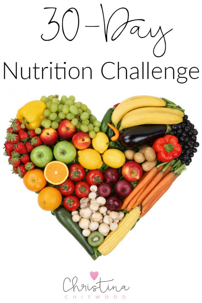 30-Day Nutrition Challenge