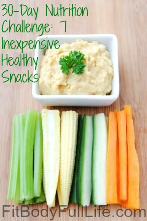 30-Day Nutrition Challenge 7 Inexpensive Healthy Snacks