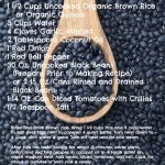 30-Day Nutrition Challenge: Black Beans and Rice Recipe