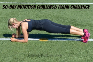 30-Day Nutrition Challenge: Plank Challenge