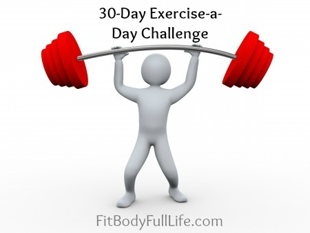 30-Day Exercise-a-Day Challenge