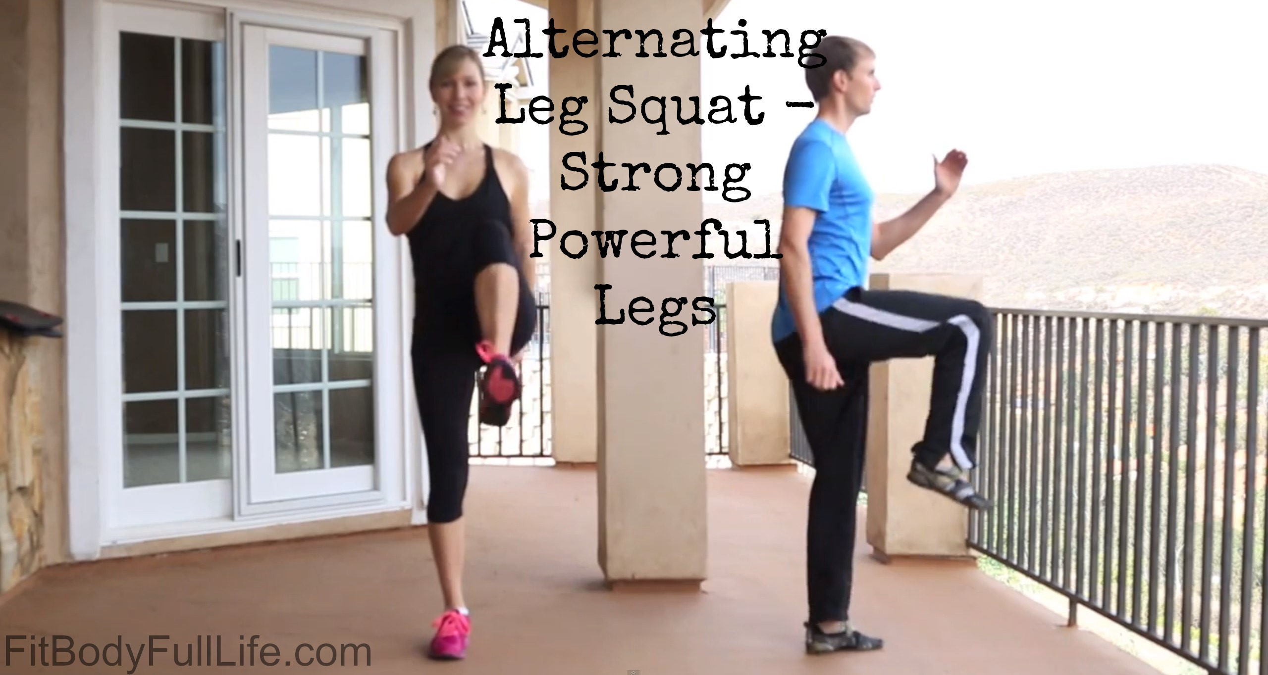 Alternating Leg Squat - Strong Powerful Legs