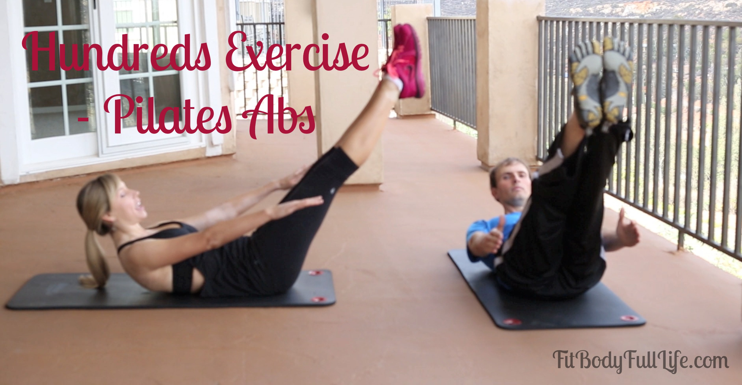 Hundreds Exercise - Pilates Abs