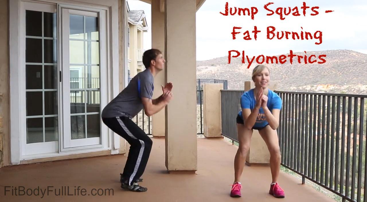 Jump Squats - Fat Burning Plyometrics