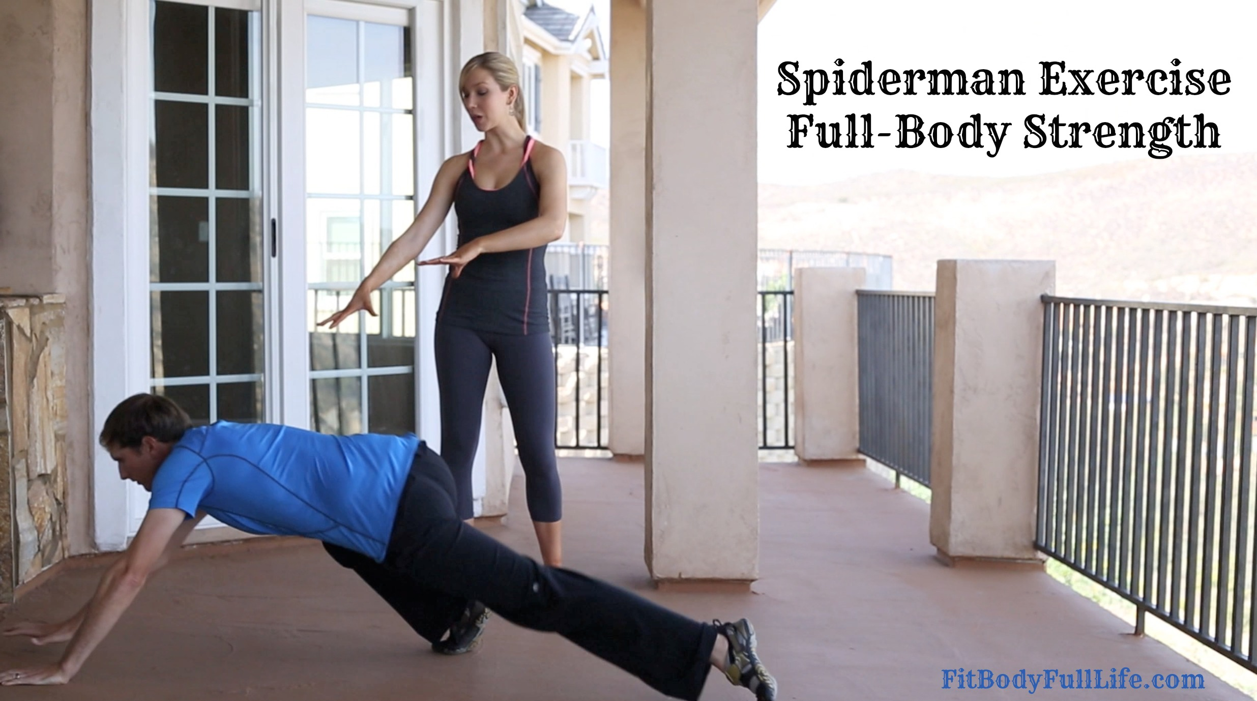 Spiderman Exercise - Full-Body Strength