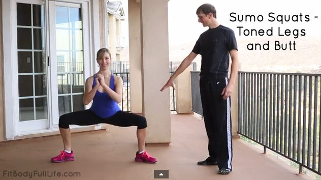 Sumo Squats - Toned Legs and Butt