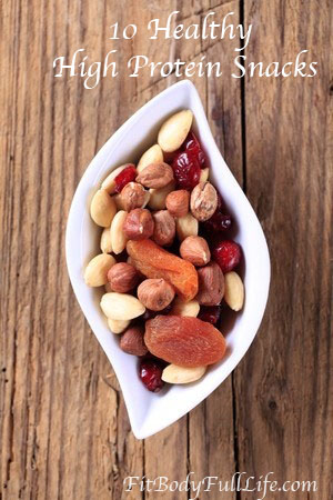 10 Healthy, High-Protein Snacks