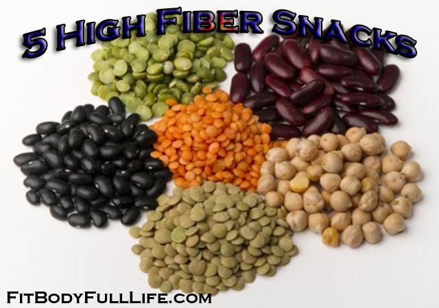 5 High Fiber Snacks