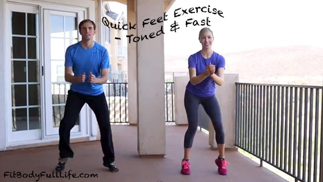 Quick Feet Exercise - Toned & Fast