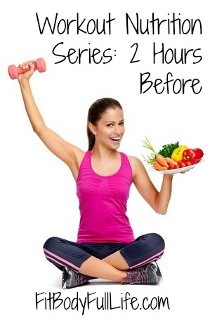 Workout Nutrition Series; 2 Hours Before
