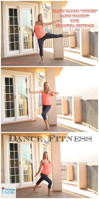 "Calvin Harris ""Summer"" – Dance Workout with Christina Chitwood - Vertical Collage"
