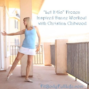 Let It Go Frozen Inspired Dance Workout With Christina Chitwood - Square