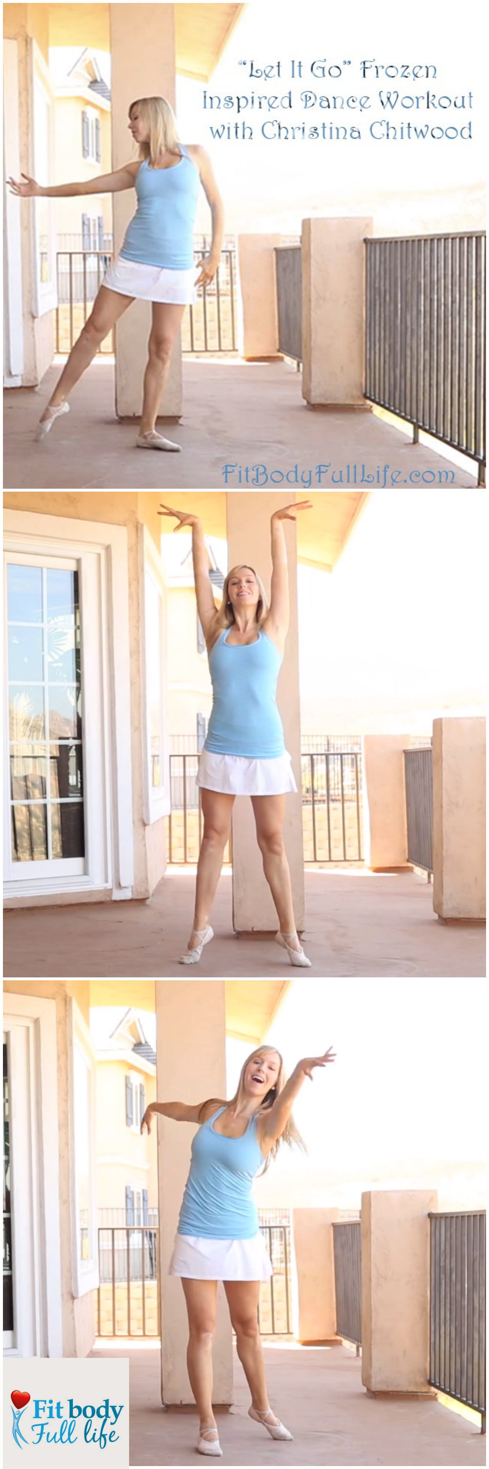 Let It Go Frozen Inspired Dance Workout With Christina Chitwood - Vertical Image