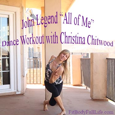"John Legend ""All of Me"" - Dance Workout with Christina Chitwood - Square"