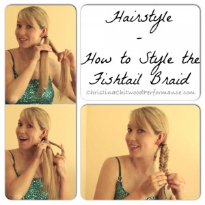 Hairstyle - How to Style the Fishtail Braid - Square