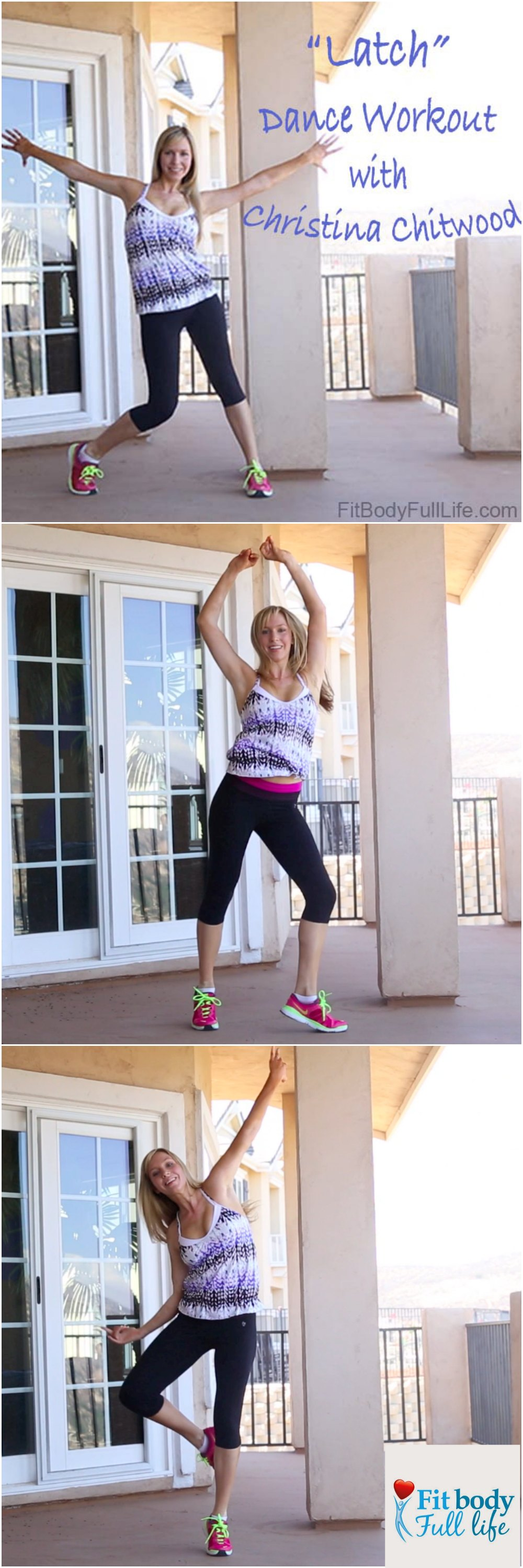 """""""Latch"""" Dance Workout with Christina Chitwood - Vertical Image"""