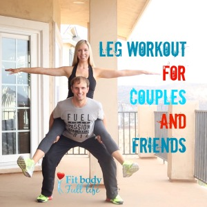 Leg Workout for Couples and Friends - square