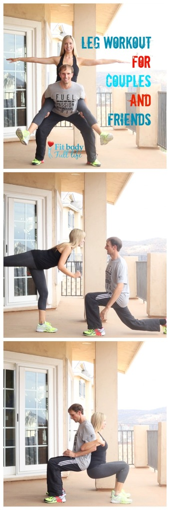 Leg Workout for Couples and Friends
