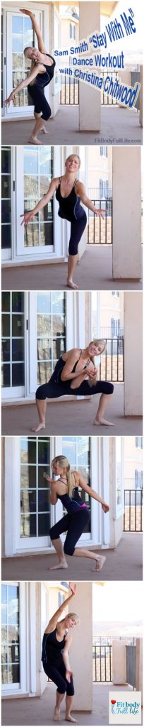 """Sam Smith """"Stay With Me"""" Dance Workout with Christina Chitwood Vertical"""