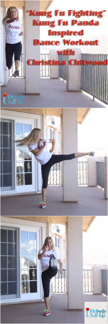 """Kung Fu Fighting"" Kung Fu Panda Inspired Dance Workout with Christina Chitwood"