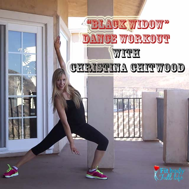 """Black Widow"" - Dance Workout with Christina Chitwood - Square"
