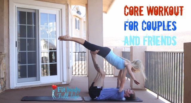 Core Workout for Couples and Friends