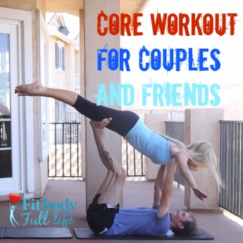 Core Workout for Couples and Friends square