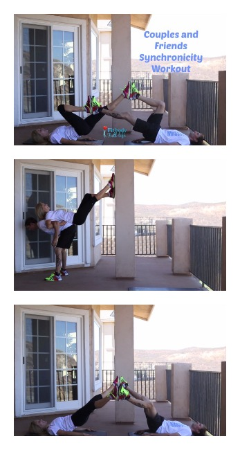 Synchronous Workout for Couples and Friends {Two Bodies as One Workout}