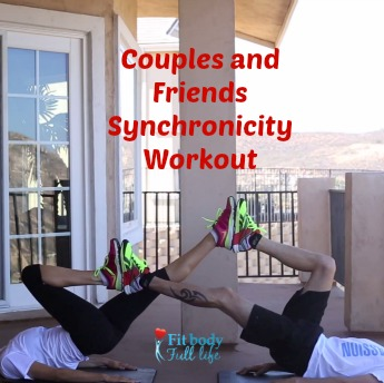 Couples and Friends Synchronicity Workout Square