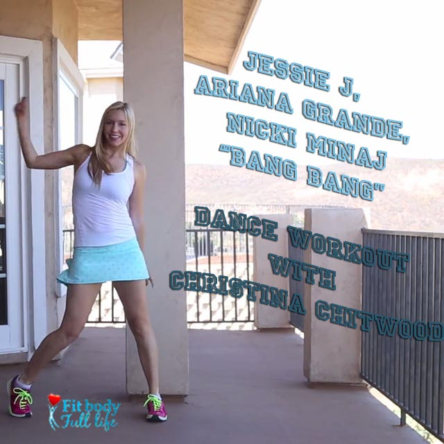 "Jessie J, Ariana Grande, Nicki Minaj ""Bang Bang"" - Dance Workout with Christina Chitwood - Square"