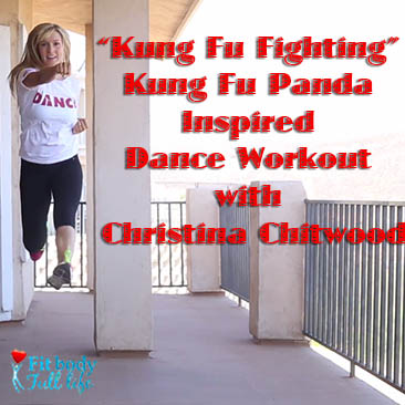 """Kung Fu Fighting"" Kung Fu Panda Inspired Dance Workout with Christina Chitwood - Square"
