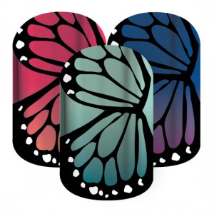 Butterfly Bliss Jamberry Nail Wraps