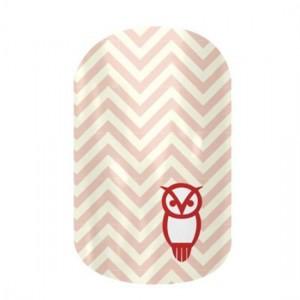 Chi O Owl Jamberry Nail Wraps