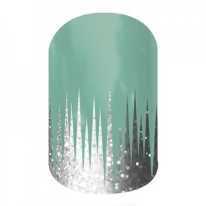 Iced - A987 - Jamberry Nail Wraps