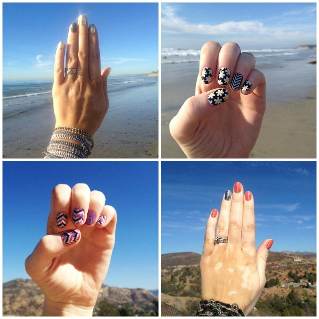 Jamberry Nail Wraps Application Step by Step - Square - Christina Chitwood Performance