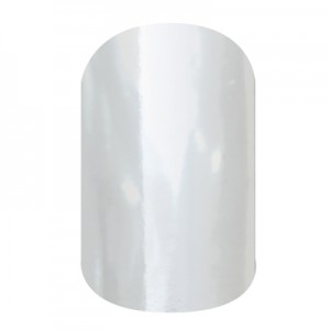 Metallic Chrome Silver - SD03 - Jamberry Nail Wraps