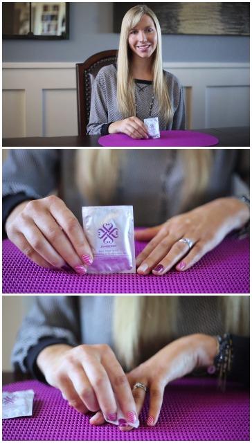 Removing Jamberry Nail Wraps: Alcohol Wipe - Christina Chitwood Performance