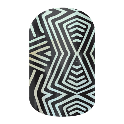 Sheer Genius - A878 - Jamberry Nails Wraps