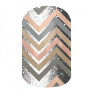 Sugar and Spice - B021 - Jamberry Nail Wraps