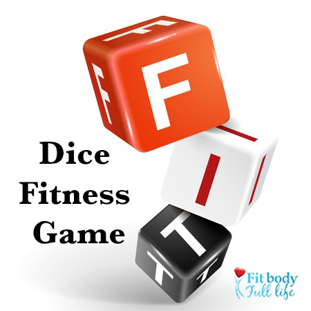Dice Fitness Game - Square