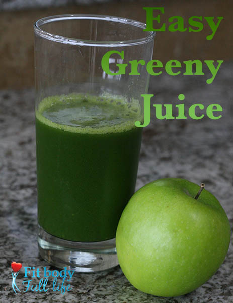 Easy Greeny Juice Recipe